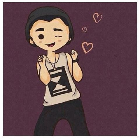 cartoon of Zayn Malik One Direction