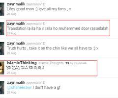 Zayn Malik's Twitter