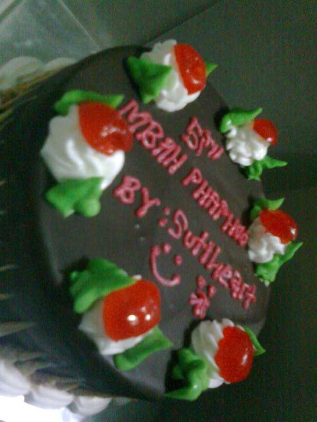 Birthday cake phapho