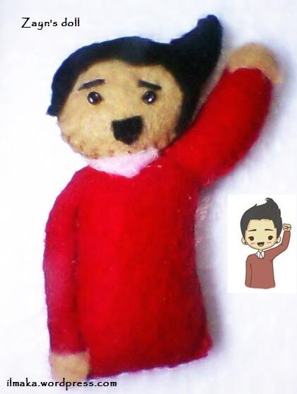 mini doll Zayn Malik