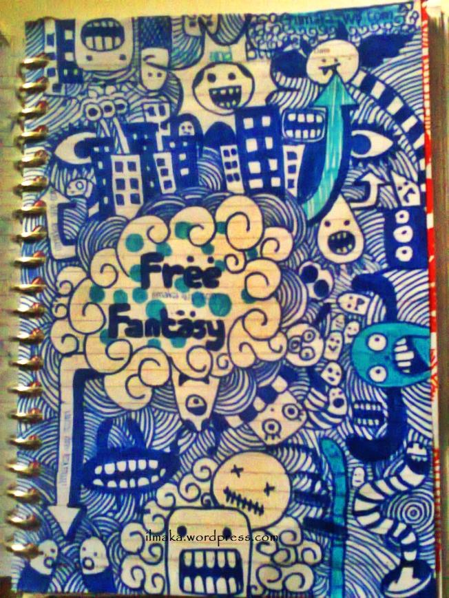 Free Fantasy ilmaka's doodle art