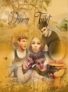 in this cover there're Liam Payne 1D, Josh Devine, Jack Harries, Finn Harries anddddd I don't know who she's, I took a picture of it on Google.