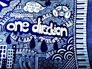 doodle art one direction 2013
