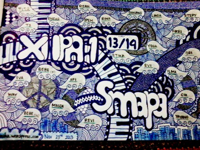 SiPaijo XI IPA 1 SMAPA SMA N 4 Magelang doodle